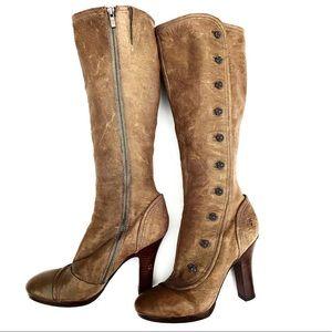 Frye (Matilda) Tall Zip Up Boots